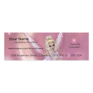 Fairy on the Moon Profile Cards Business Card Templates