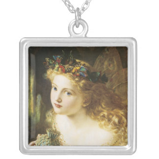 Fairy or Faerie Sterling Silver Necklace