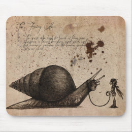 Fairy Ostler Mouse Pad