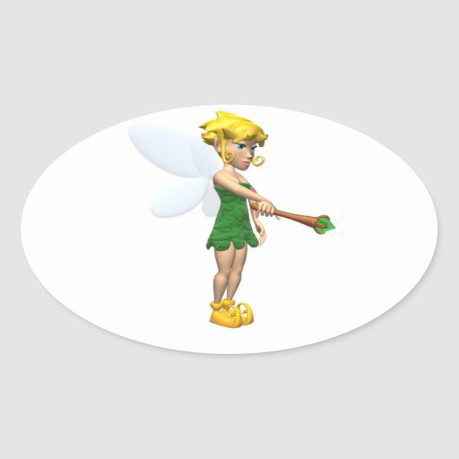 Fairy Oval Stickers
