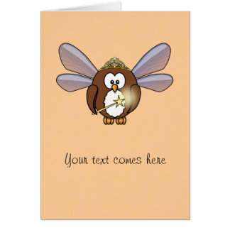 fairy owl card