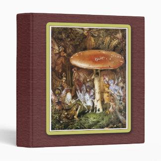 Fairy Painting Binder Vinyl Binders