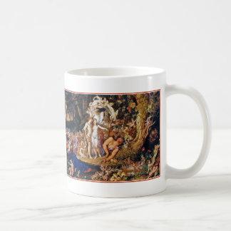 """Fairy Painting """"Oberon and Titania"""" Coffee Mug"""
