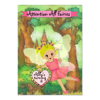 Fairy Party Custom Invitation