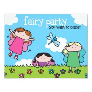 Fairy Party - Invitation