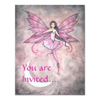 Fairy Party Invitations by Molly Harrison