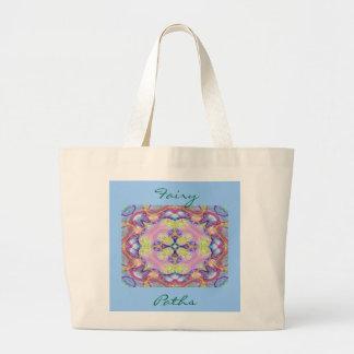 Fairy Paths jumbo tote Tote Bags
