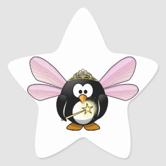 Fairy Penguin Star Sticker