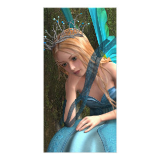 Fairy Photo Card Template
