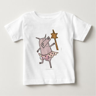 Fairy Pig Baby T-Shirt