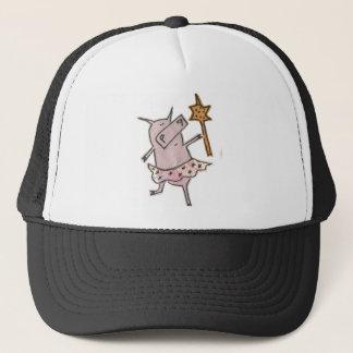 Fairy Pig Trucker Hat
