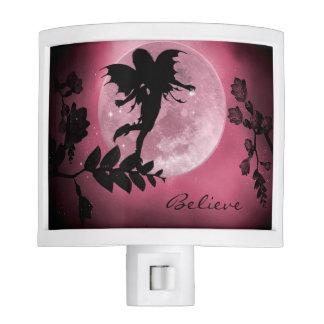 Fairy pink moon glow nightlight