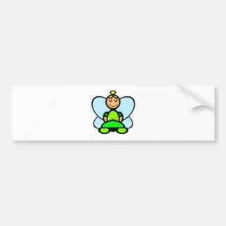 Fairy (plain) bumper sticker