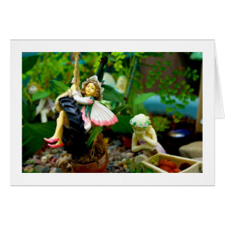 Fairy Pondering Greeting Card