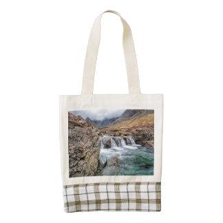 Fairy Pools, Glen Brittle, Isle of Skye Zazzle HEART Tote Bag