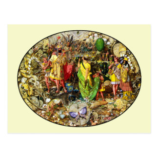 Fairy Postcard: Fairy Painting by Richard Dadd Postcard
