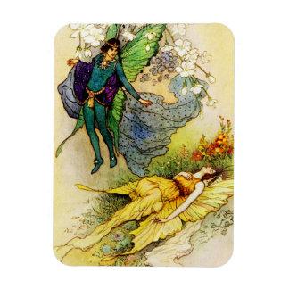 Fairy Prince and Princess Mermaid Magnet