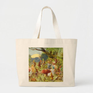 Fairy Prince and Thumbelina in the Magic Forest Tote Bag