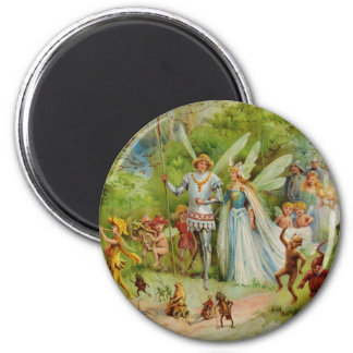 Fairy Prince and Thumbelina in the Magic Wood Magnet