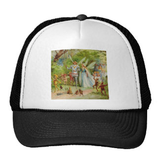Fairy Prince and Thumbelina in the Magic Wood Trucker Hat