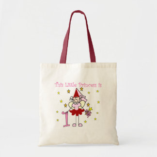 Fairy Princess 1st Birthday Tshirts and Gifts Tote Bag
