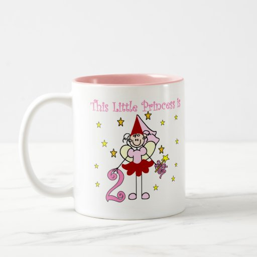 Fairy Princess 2nd Birthday Mugs