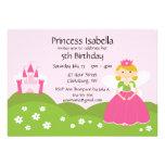 Fairy Princess Birthday Custom Announcements