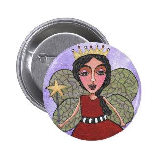 Fairy Princess - button
