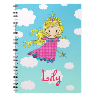 Fairy Princess Custom Notebook - Add Your Name