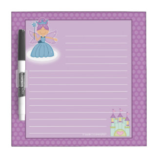 Fairy Princess Dry-Erase Board