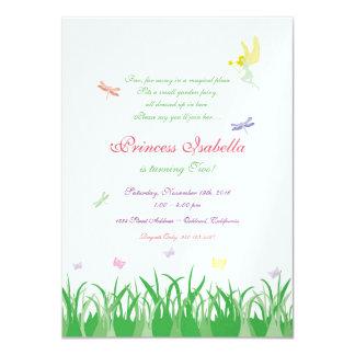 Fairy Princess Garden Party Invite