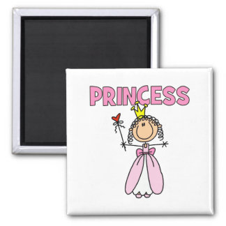 Fairy Princess Gift 2 Inch Square Magnet