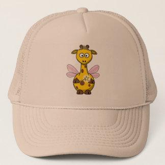 Fairy Princess Giraffe Trucker Hat