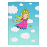 Fairy Princess Happy Birthday Card