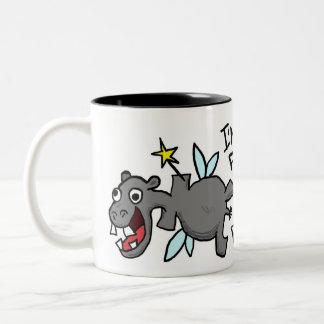 Fairy Princess Hippo Mug