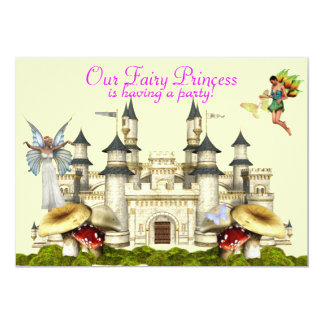 fairy princess invitation