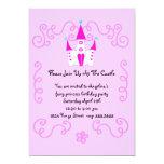 """fairy princess invite 5"""" x 7"""" invitation card"""