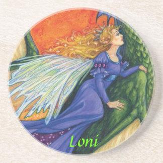 Fairy Princess Loni Drink Coaster