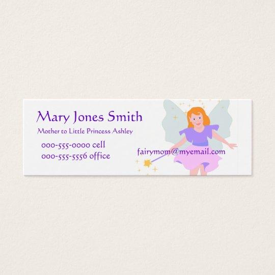 Fairy Princess Mommy Card