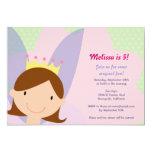 """Fairy Princess Party Invite 5"""" X 7"""" Invitation Card"""