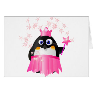 Fairy Princess Penguin Card