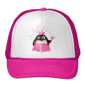 Fairy Princess Penguin Trucker Hat