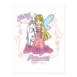 Fairy Princess Toddler Baby Post Cards