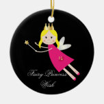 Fairy Princess Wish hanging ornament, gift idea