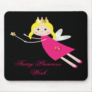 Fairy Princess Wish kids mousepad, gift idea
