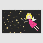 Fairy princess wish sticker, stickers, gift idea