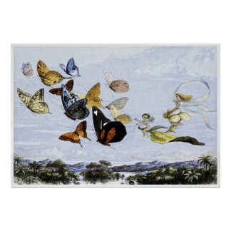 Fairy Print by Richard Doyle 1870