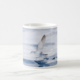 Fairy Prion Pachyptila Turtur Sea Bird Running Classic White Coffee Mug