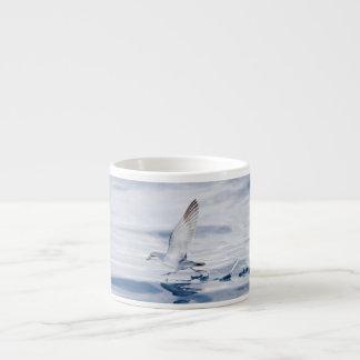 Fairy Prion Pachyptila Turtur Sea Bird Running Espresso Cup