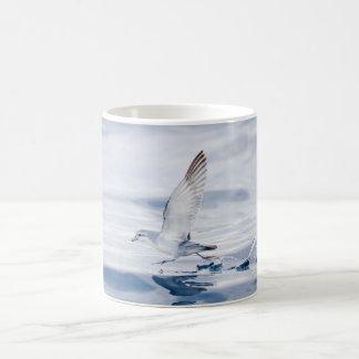 Fairy Prion Pachyptila Turtur Sea Bird Running Coffee Mugs
